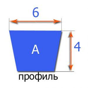 ремень 6х4