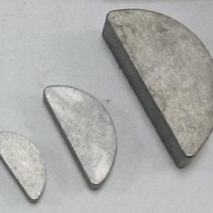 Шпонка сегментная 3 х 5 - ГОСТ 24071-97