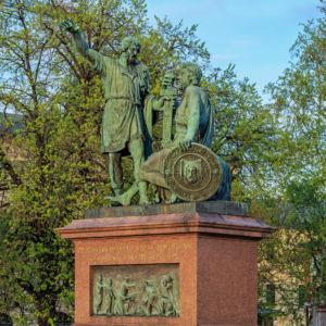 Памятник Минину и Пожарскому в Москве, © A.Savin, Wikimedia Commons