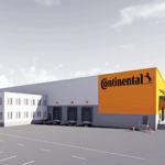 Continental инвестирует 10 млн евро в новый передовой распределительный центр в Лангенхагене