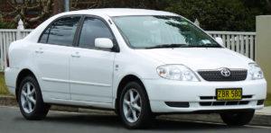 Toyota Corolla (ZZE122R) седан
